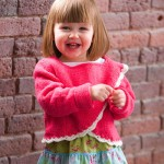 Free Pattern: ADORABLE Princess Girl's Wrap Sweater