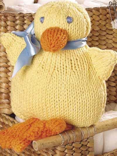 Duck Knitting Pattern : FREE PATTERN: Waddle Duck