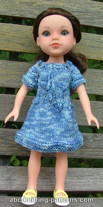 Free Pattern Doll Raglan Summer Dress