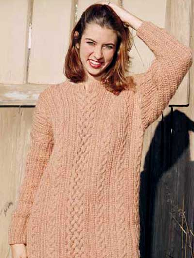 Free Knitted Sweater Pattern