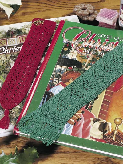 Free Knitted Bookmark Pattern