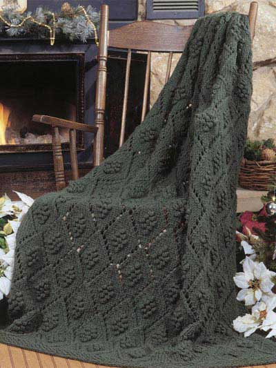 Free Knitted Lapghan Pattern