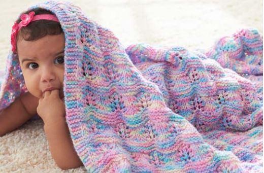 Free Pattern Baby Ripple Afghan