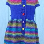 FREE PATTERN: Girl's Round Yoke Dress
