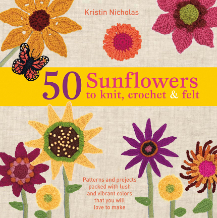 50 sunflowers to knit