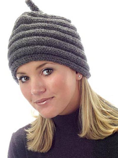 Free Pattern Arctic Ribbed Hat