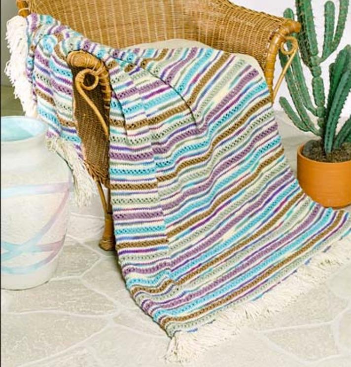 free knitting afghan pattern |