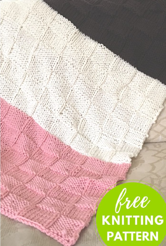 Free Pattern Neapolitan Baby Blanket