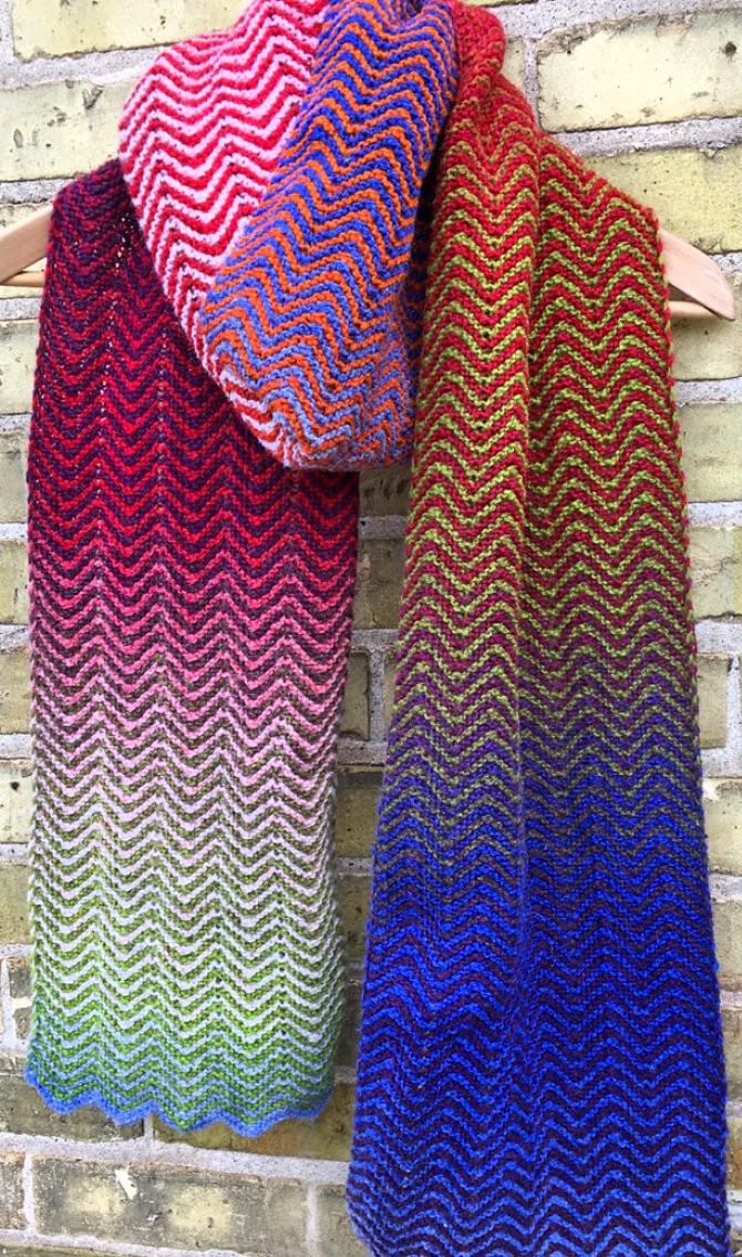 Free Wavy Knitting Pattern
