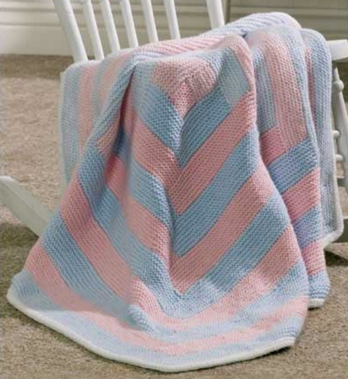 free baby blanket knitting pattern |