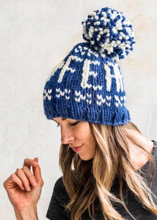 Free Ski Hat Knitting Pattern