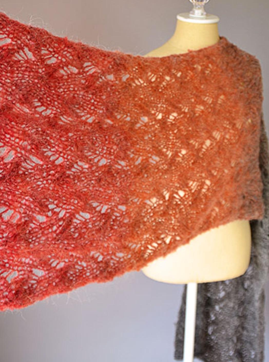 free knitting lace pattern |