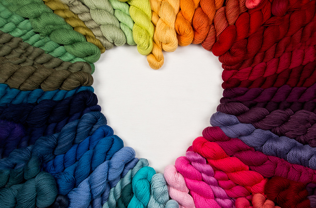 The 4 health benefits of knitting: read more at LoveKnitting